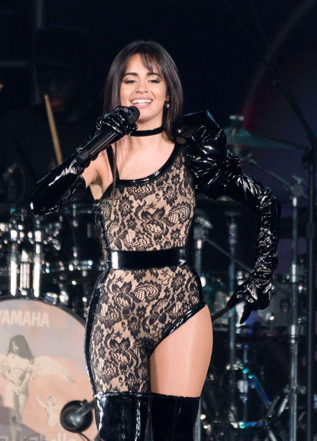 Stylish Camila Cabello Performing At B96 Jingle Bash
