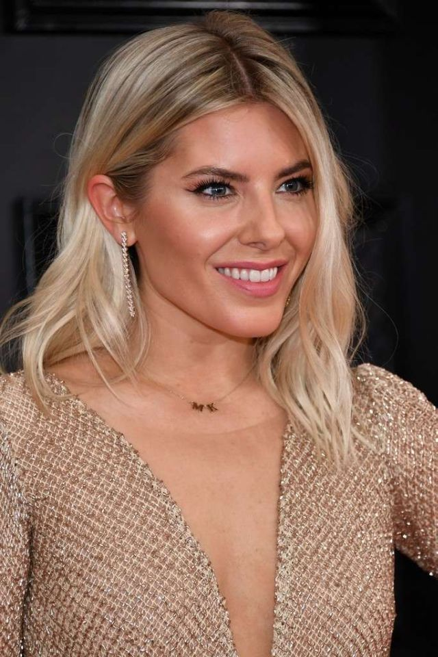Pretty Mollie King Attends 62nd Annual Grammy Awards