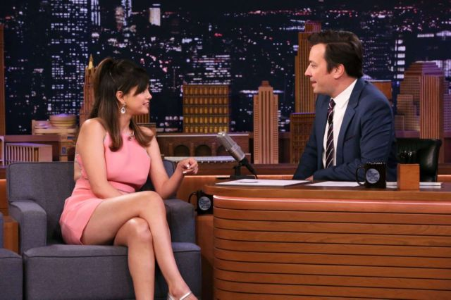 Stunning Selena Gomez On The Tonight Show Starring Jimmy Fallon