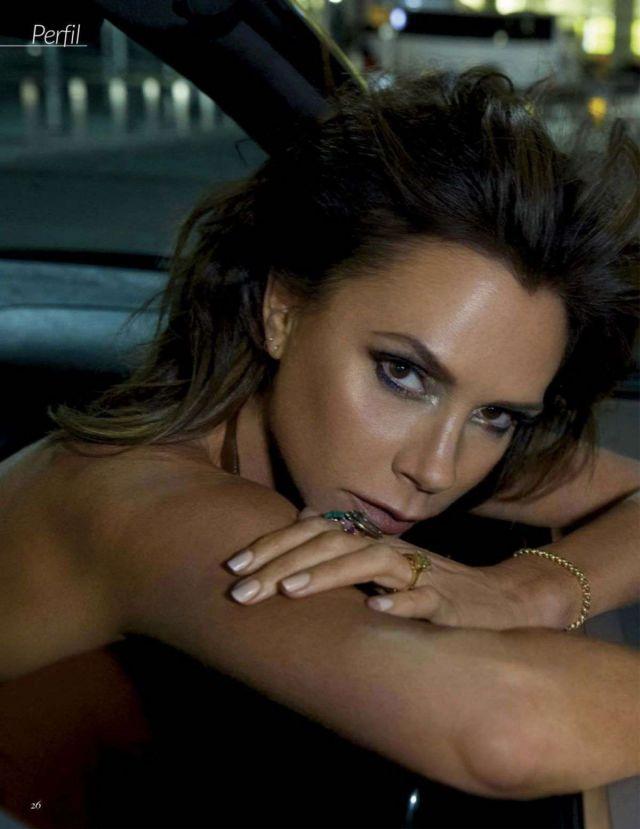 Victoria Beckham Shoots For Vogue Spain Magazine 2020