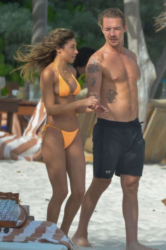 Chantel Jeffries Vacationing In A Bikini In Tulum