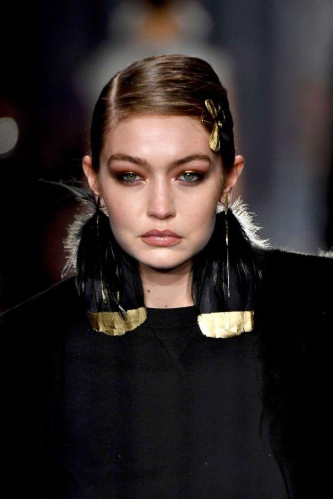 Gigi Hadid Turned Heads At The Tom Ford AW20 Fashion Show
