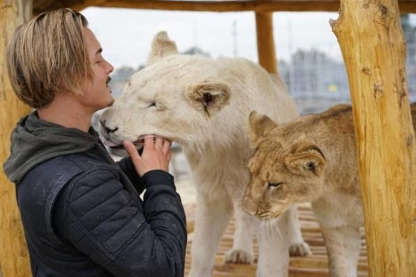 The Swiss Man Living His Dream To Rescue Wild Animals