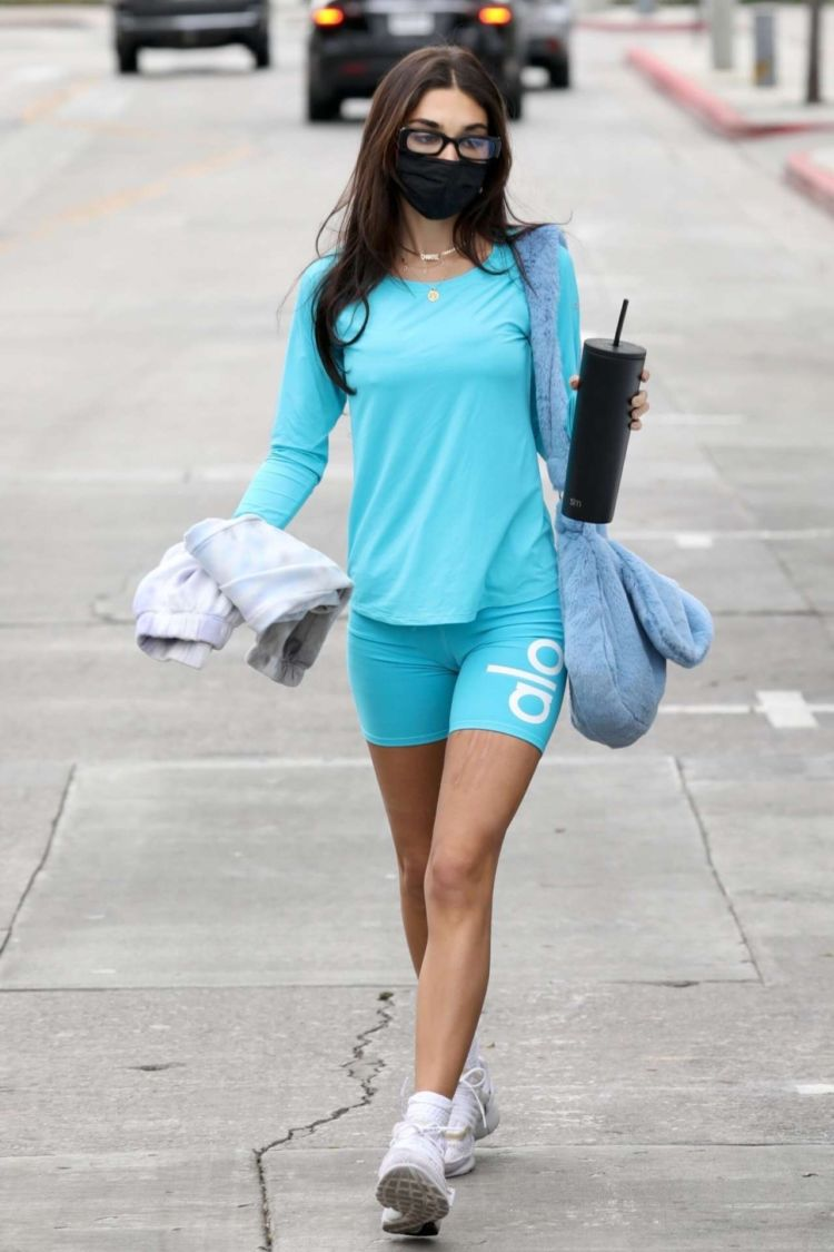 Chantel Jeffries Candids In Yoga Pants Out In Los Angeles