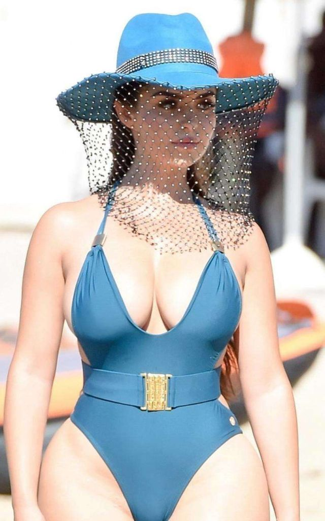 Gorgeous Demi Rose Mawby In A Swimsuit In Ibiza