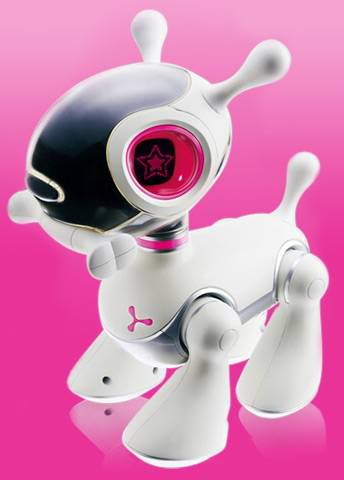 Robotic Dog that Demonstrates Emotions