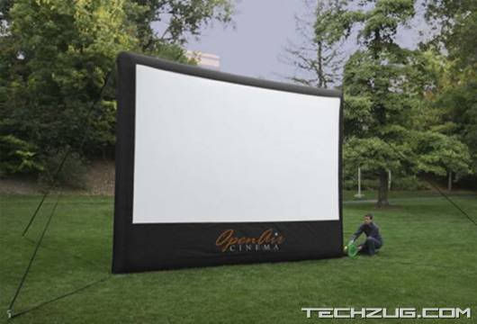 16-Foot Inflatable Outdoor Screen