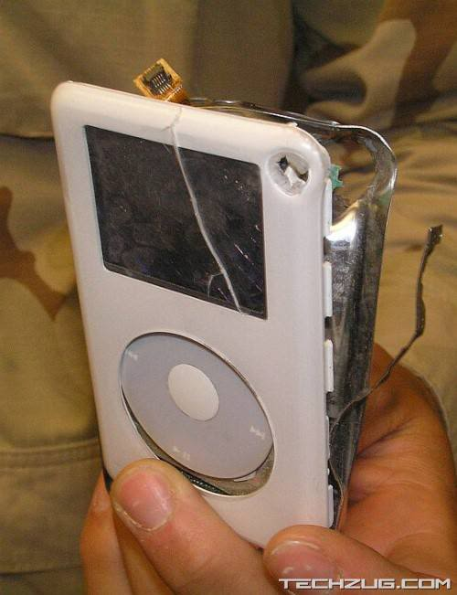 Almost Saved by an iPod?