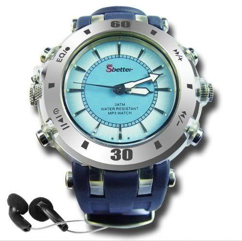 Bluetooth MP3 Player Watch