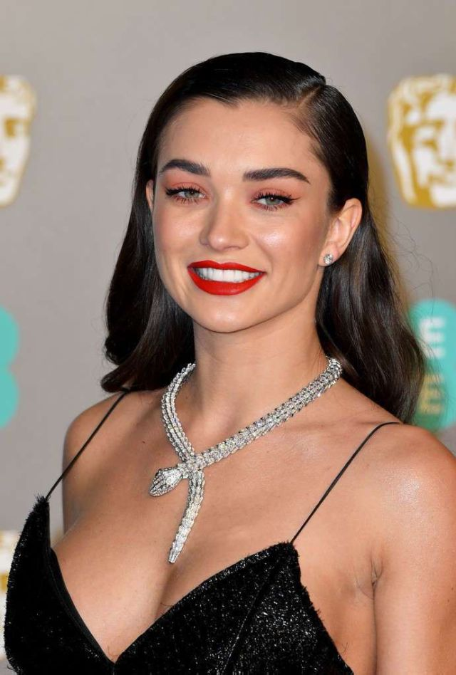 Amy Jackson Attended The EE British Academy Film Awards 2019