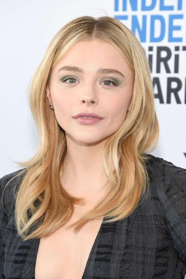 Pretty Chloe Grace Moretz Attends Film Independent Spirit ...