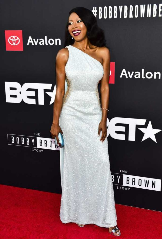 Gabrielle Dennis At 'The Bobby Brown Story' Premiere