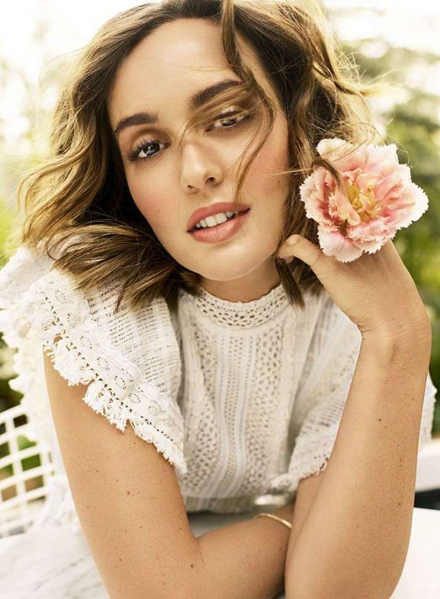 Leighton Meester Covers Shape Magazine's April 2019 Issue