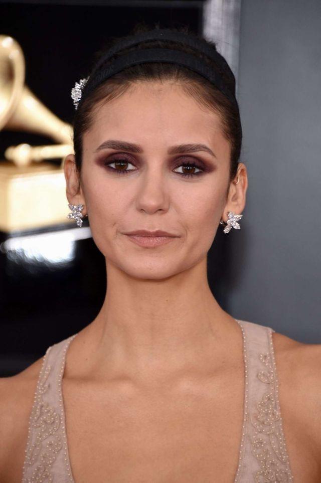 Gorgeous Nina Dobrev At The Grammy Awards In Los Angeles