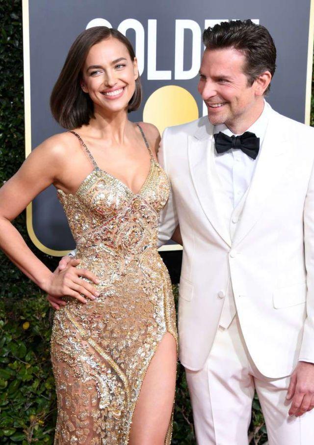 Gorgeous Irina Shayk Attends Golden Globe Awards In Beverly Hills