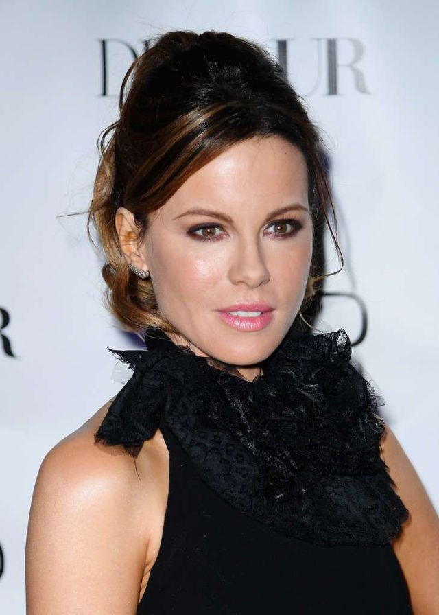 Kate Beckinsale In Black At DuJour Magazine Spring Issue Celebration Party