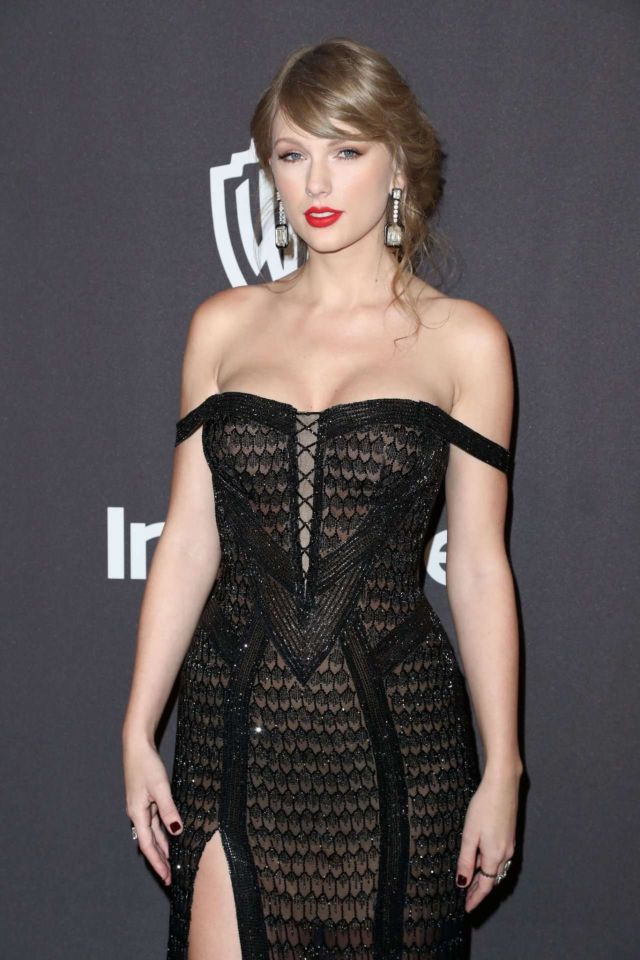 Taylor Swift Attends The Golden Globes After Party