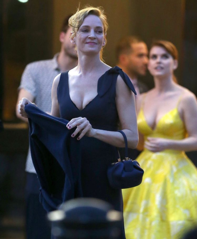 Alice Eve Spotted Outside The Roxy Hotel In New York