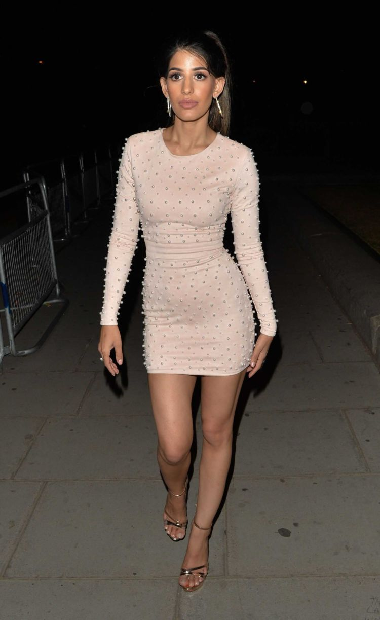 Jasmin Walia Stepped Out For A Night Out In London
