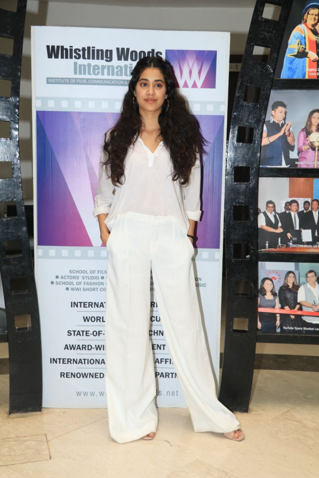 Janhvi Kapoor's All-White Outfit Is Classic Treat