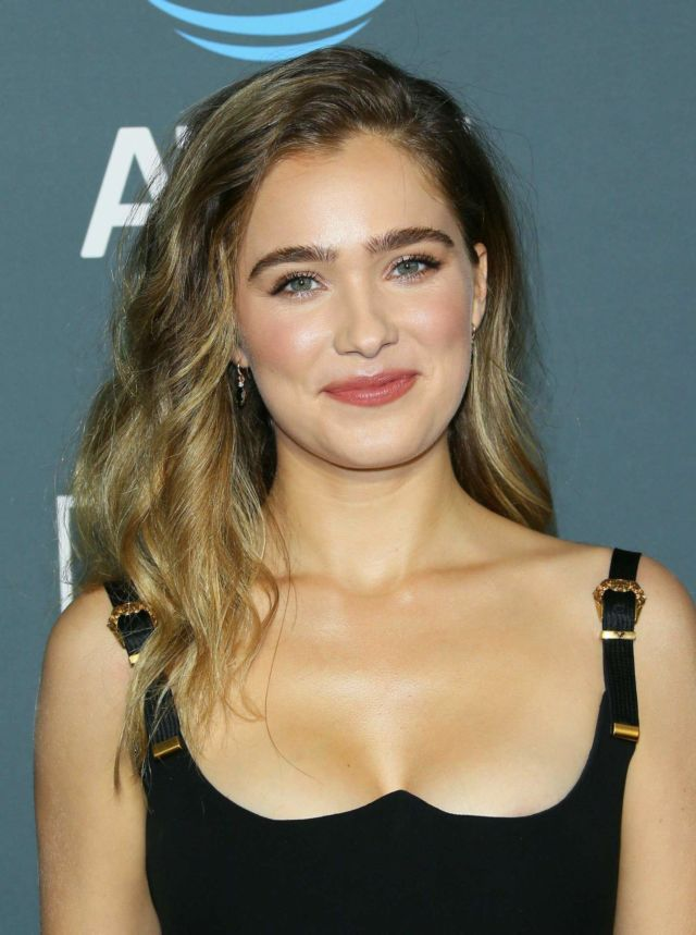 Haley Lu Richardson Attends 24th Annual Critics Choice Awards