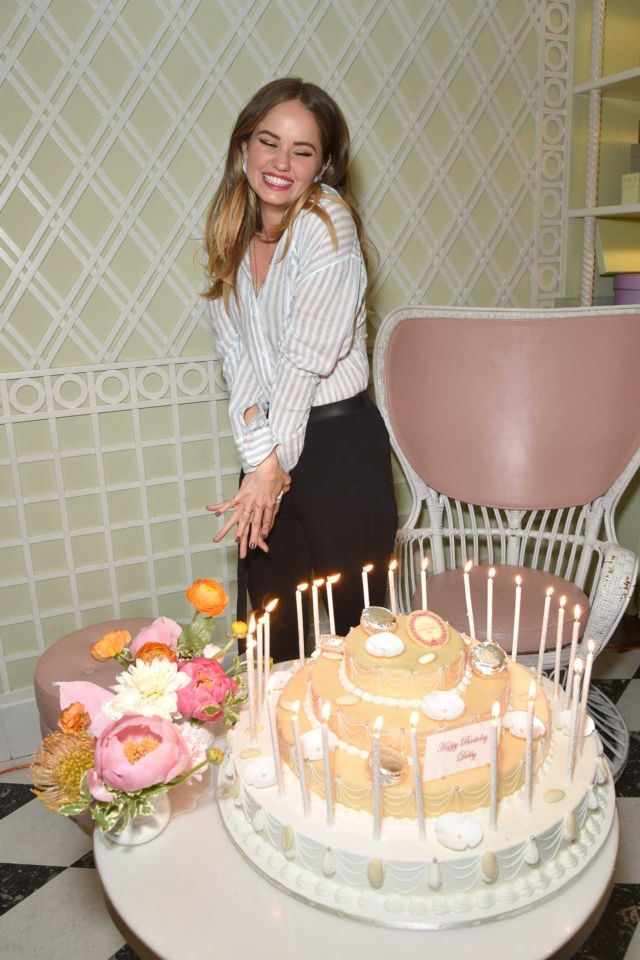 Debby Ryan Celebrates Her 25th Birthday In Beverly Hills