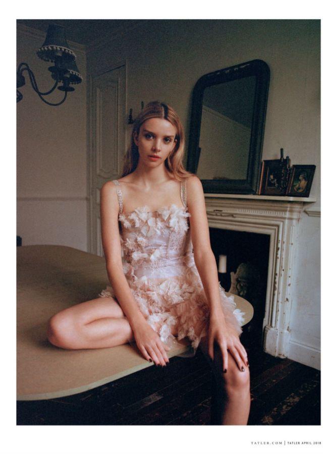 Greta Bellamacina Shoots For Tatler Magazine