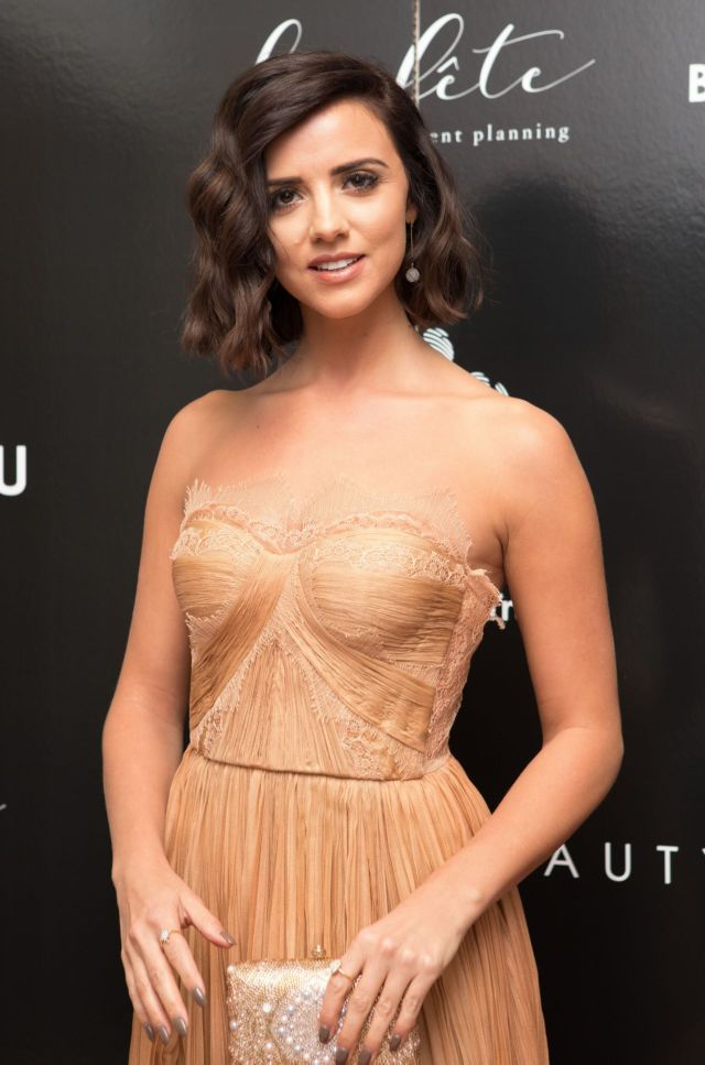 Gorgeous Lucy Mecklenburgh Graces Bardou Foundation Women's Day Gala