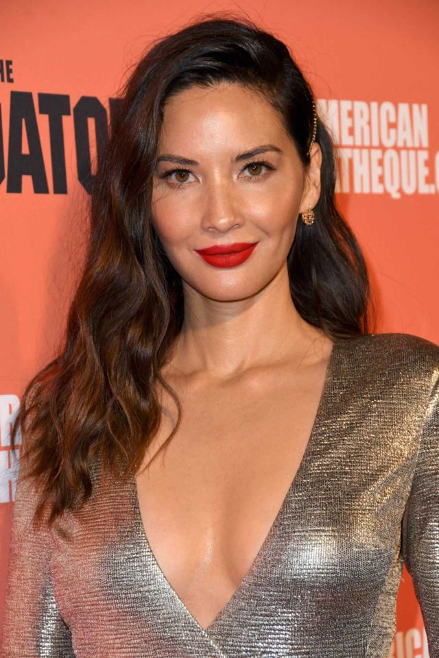 Olivia Munn Shines At The Premiere Of 'The Predator'