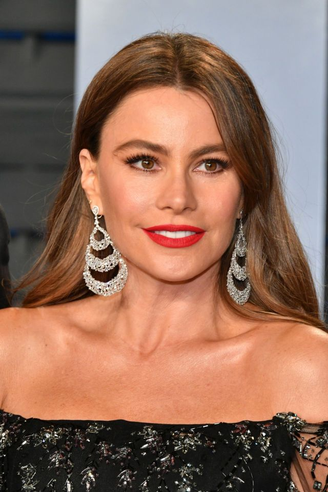 Sofia Vergara At The Vanity Fair Oscar Party 2018