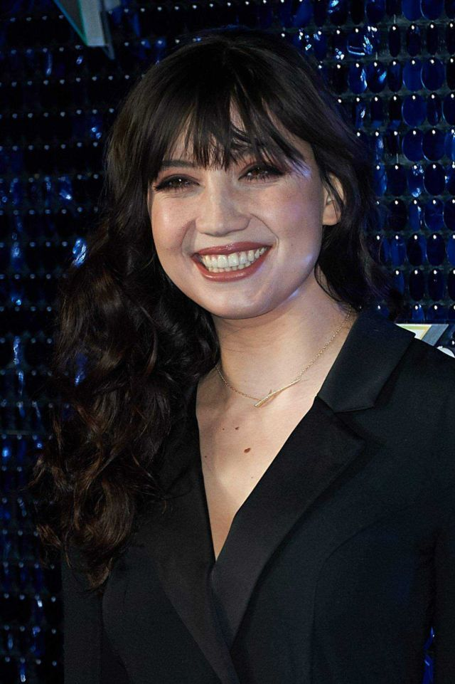 Daisy Lowe Flashes Her Killer Smile At The Global Awards 2018