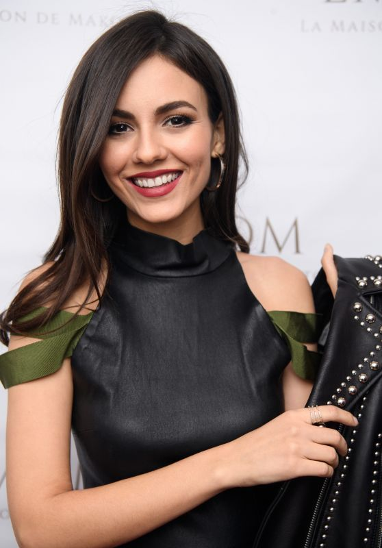Victoria Justice Dancing For LMDM Grand Opening Party