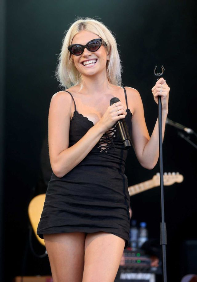 Pixie Lott Rocks The Cornbury Festival In Oxfordshire