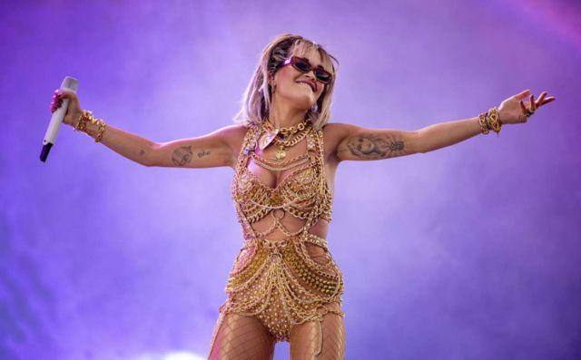 Rita Ora Performs Live At Ruisrock 2019 In Turku