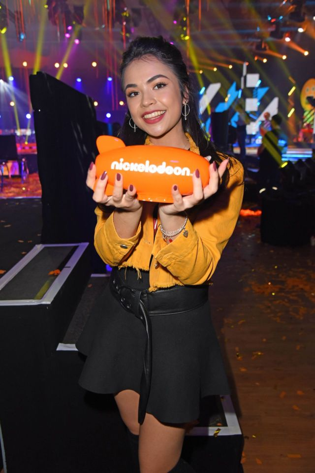 Pretty Selina Mour Attends Nickelodeon Kids Choice Awards 2018