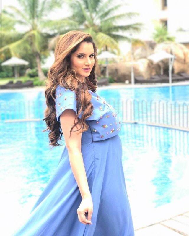 Sania Mirza Shoots For Latest Issue Of JFW Magazine