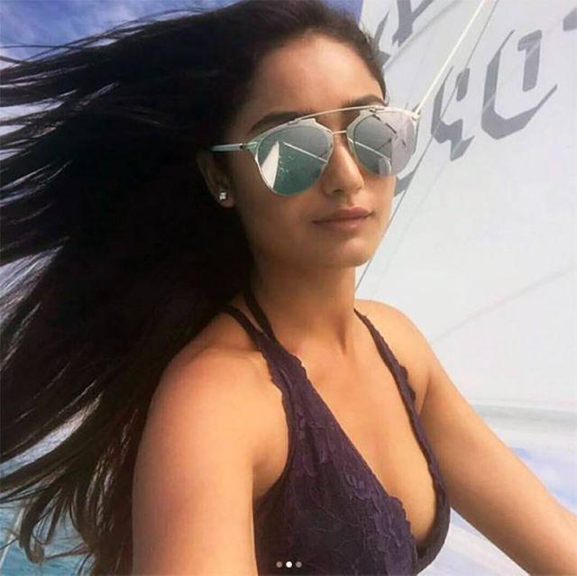 Tridha Choudhury Raises The Mercury Levels In Maldives