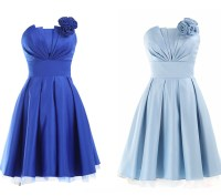 Royal Blue Bridesmaid Dresses,Short Bridesmaid Gown,Summer ...