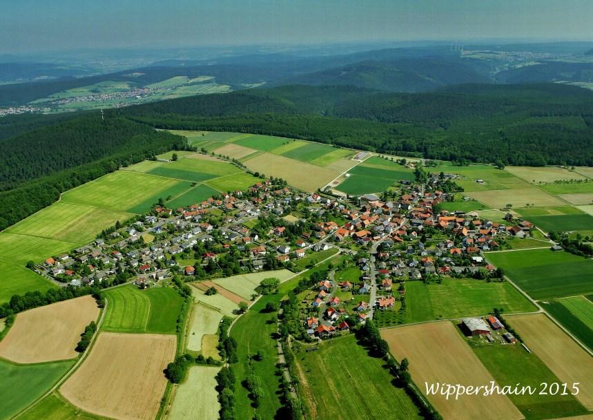 Luftbild Wippershain 17x24