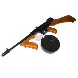 "[TOYSTAR AIRSOFT] Thompson M1928 Drum Mag ""Chicago Typewriter"" Low Power Airsoft SMG (Spring-Powered)"
