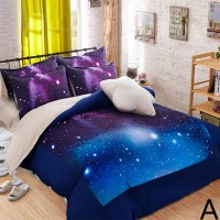 galaxy print bedding hipster galaxy 3d bedding set
