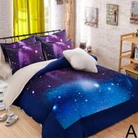 galaxy print bedding hipster galaxy 3d bedding set ...