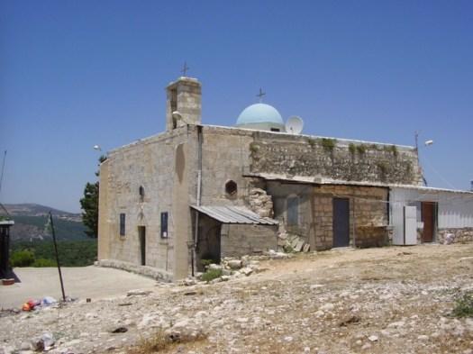 De kerk van Iqrit