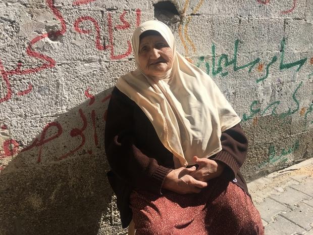 Fadila Ashi, Gaza (Foto: MEE/Maha Hussaini)