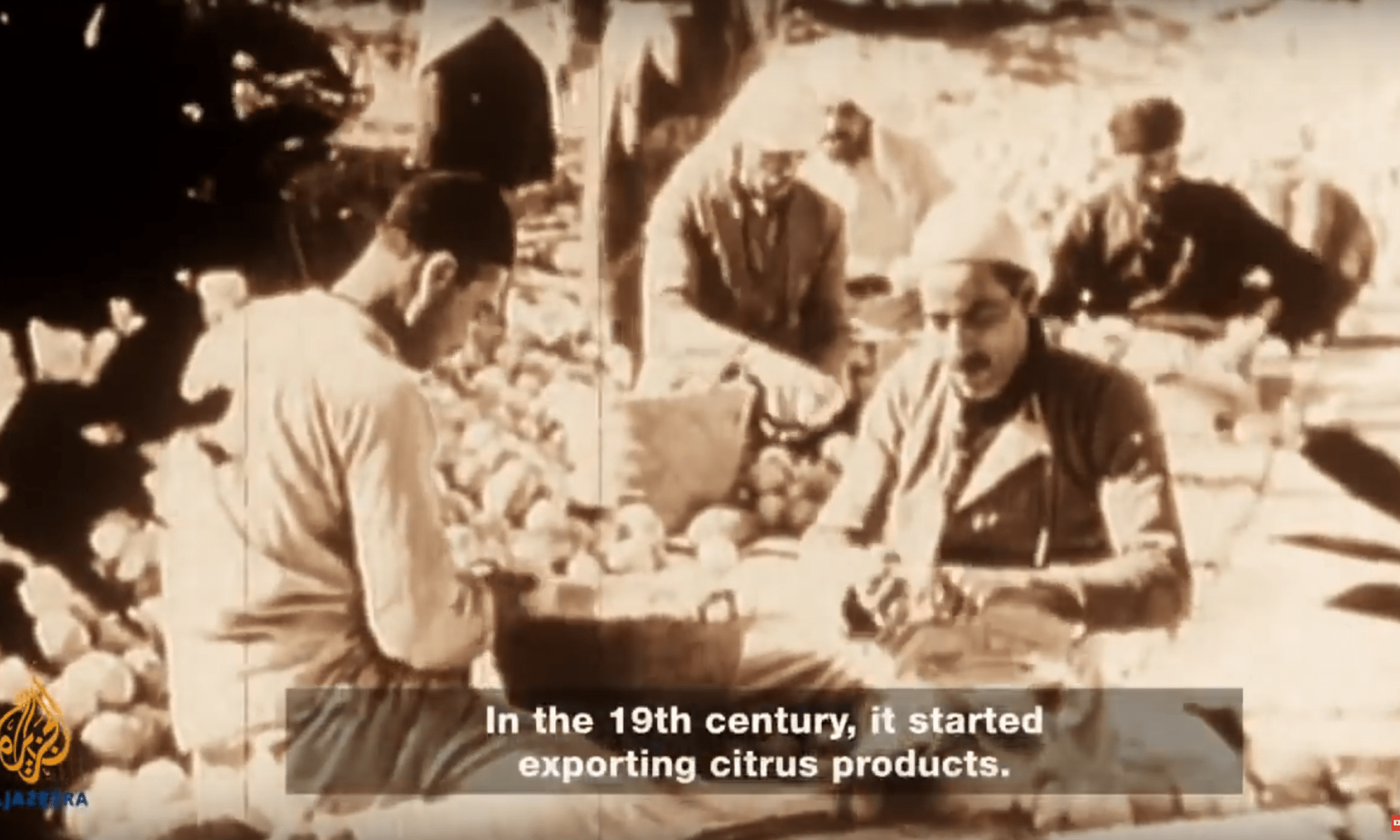 Screenshot uit Lost cities of Palestine.