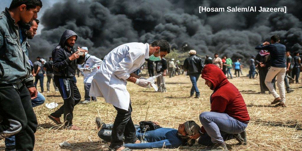 Tienerslachtoffer Gaza 6 april 2018