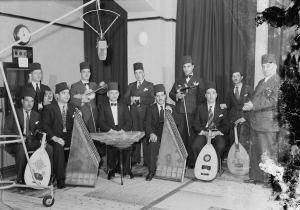 Palestijnse musici traden op voor de radio tussen 1936 en 1946