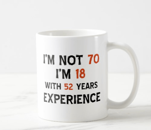 Funny 70th Birthday Gift Ideas
