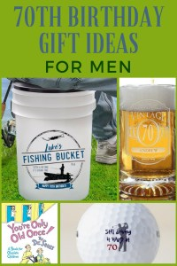 70th Birthday Gift Ideas for Men