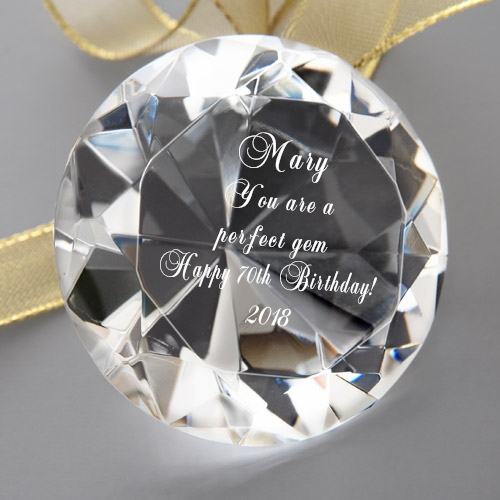 Perfect Gem Keepsake - 70th Birthday Gift Ideas for Women